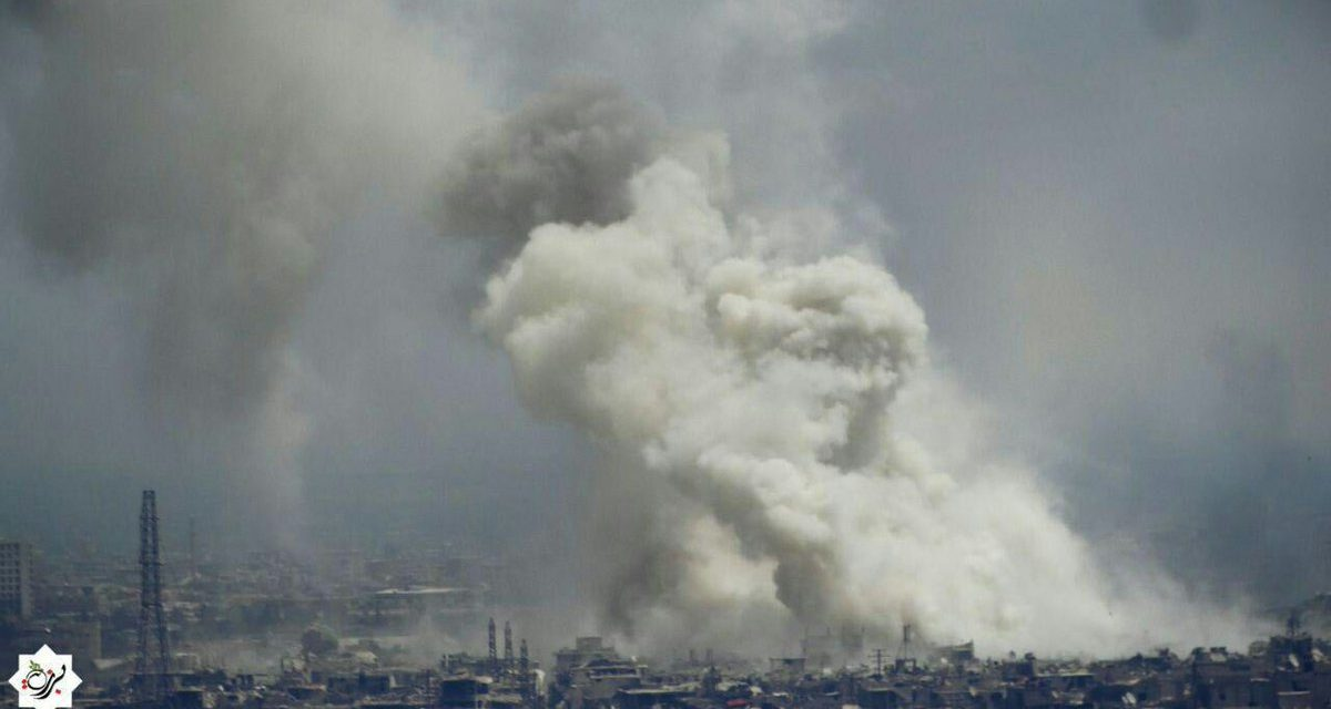 Syria Daily: Pro-Assad Forces on Verge of Overrunning Qaboun Near Damascus