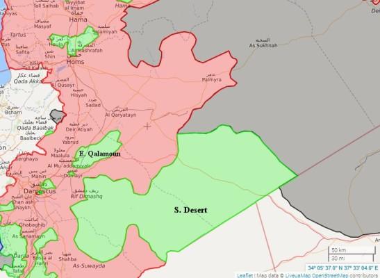 SYRIA MAP 26-05-17