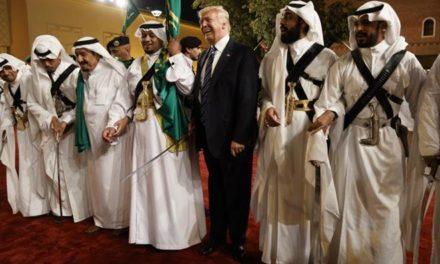 TrumpWatch, Day 121: Trump Escapes to Saudi Arabia