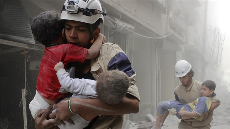 Trump Administration Freezes Funding of Syria's White Helmets