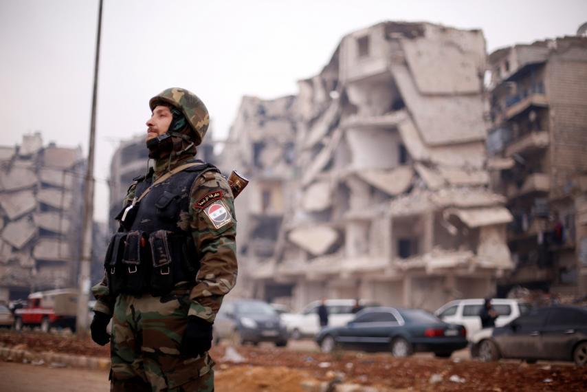 Assad Regime Struggles to Control Its Militias in Aleppo