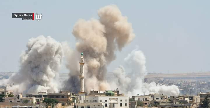 Syria Daily: Pro-Assad Forces Continue Bombardment of Daraa