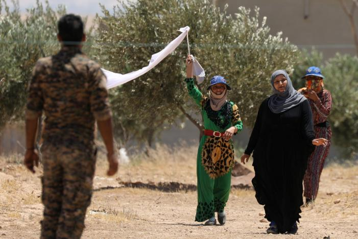 Syria Daily: Raqqa — UN Warning About Civilians as Offensive Escalates