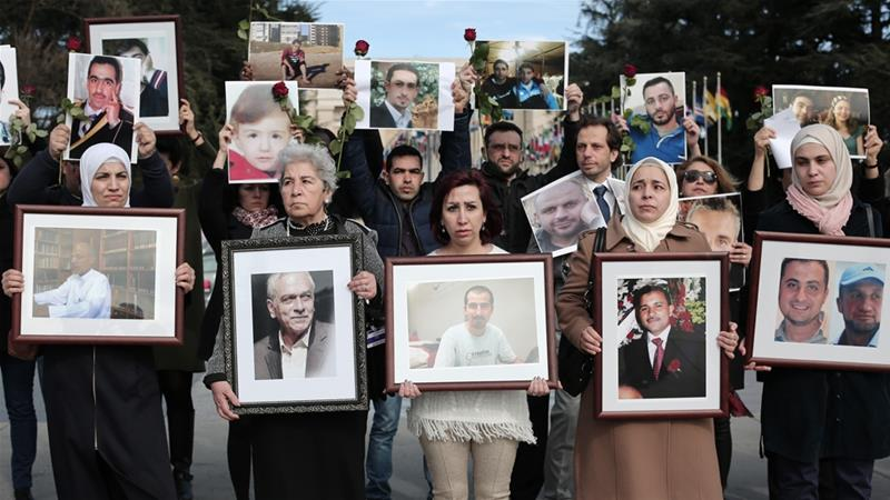 Families Seek Answers About Syria's 65,000 Disappeared