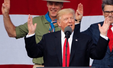 "Trump's Bizarre Boy Scouts Speech — Bragging, Threats, and Wink-Wink About ""Hot Parties"""