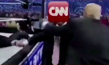 "Podcast: Trump's ""CNN Bodyslam"" is Part of a White House Campaign"