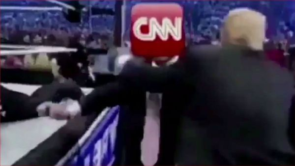"""Podcast: Trump's """"CNN Bodyslam"""" is Part of a White House Campaign"""