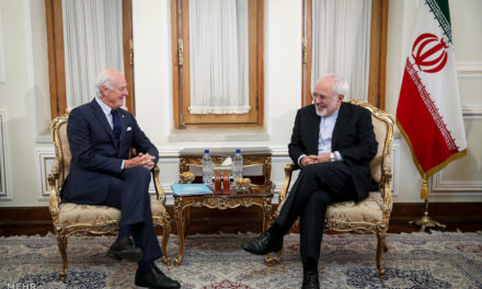 Iran Daily: UN Envoy for Syria Visits Tehran