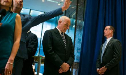Chief of Staff Kelly v. Donald Trump