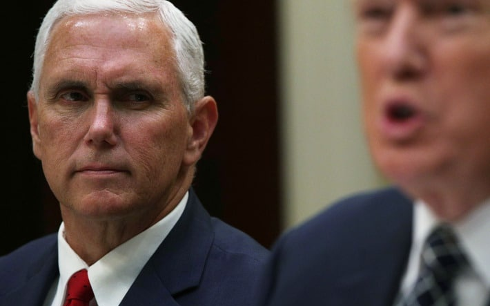 """Trump to Pence: """"Overturn the Election"""" — Pence to Trump: """"No"""""""