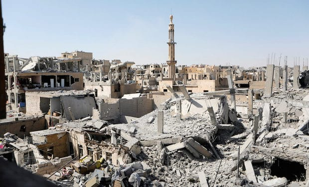 US-Led Coalition Killed 1,600 in Syria's Raqqa — Amnesty, Airwars