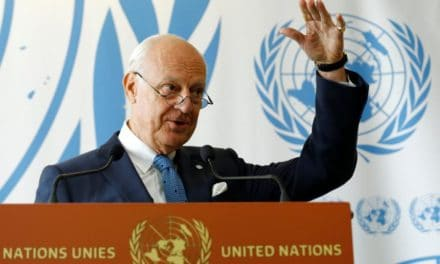 "Syria Daily: UN's De Mistura Wags Finger at Opposition — ""You Can't Win"""