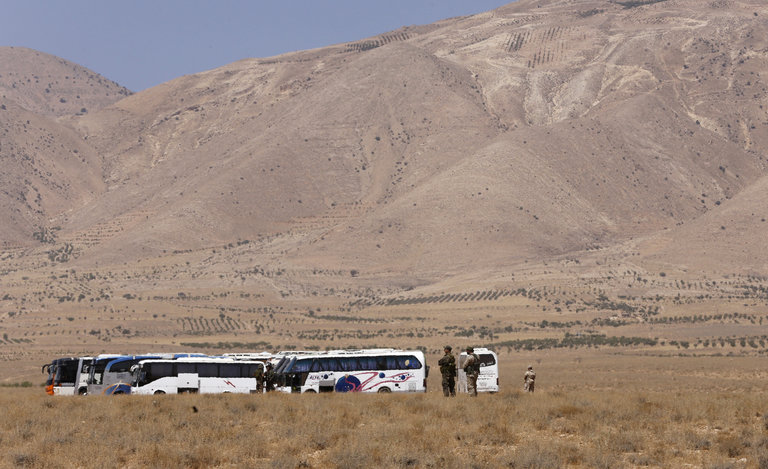 Syria Daily: Hezbollah-Regime Convoy of ISIS Fighters Finally Reaches Eastern Destination