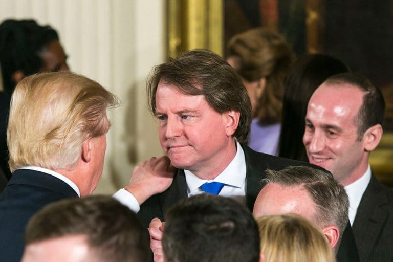 TrumpWatch, Day 587: Trump Dismisses White House Lawyer McGahn