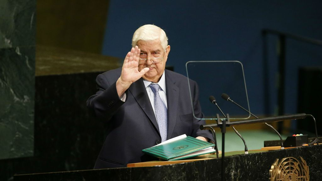 Syria Daily: FM Moallem to UN — De-Escalation Zones Are Temporary