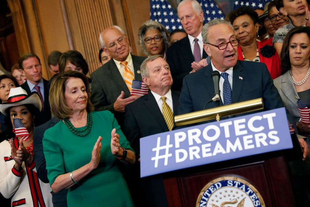 """TrumpWatch, Day 237: A Trump-Democrat Deal on """"Dreamers"""" and No Wall with Mexico?"""