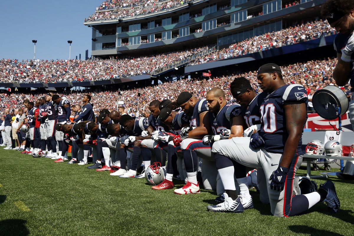 Podcast: Why Trump v. NFL & #TakeTheKnee is About Race and Free Speech