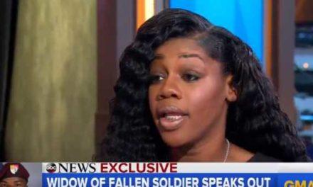 TrumpWatch, Day 277: Trump — Widow of Slain Green Beret is Lying