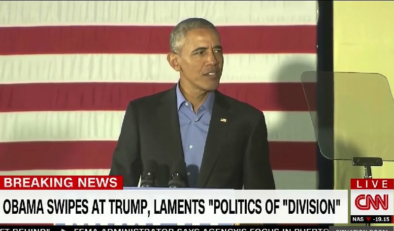 Obama and Bush Warn of Trump and Damage to US Society