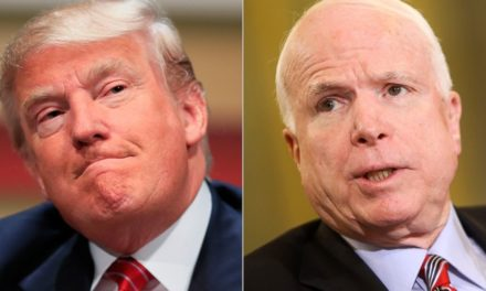 Trump Looks for Another Fight v. McCain