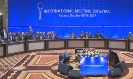 Syria Daily: Russia-Turkey-Iran Hold Talks in Astana