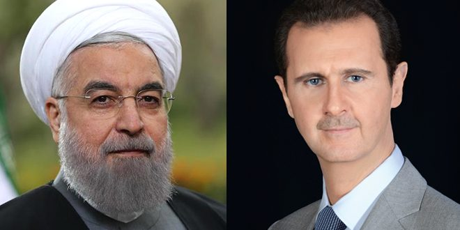 Syria Daily: Iran's Rouhani Calls Assad