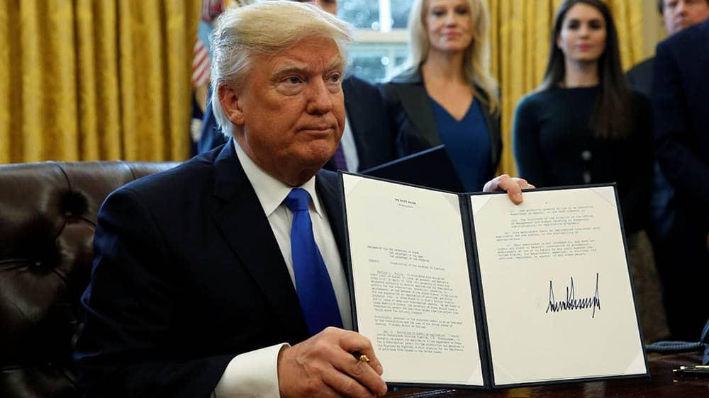 "TrumpWatch, Day 303: Trump's ""Historic"" Keystone Pipeline Shut Down After Oil Spill"