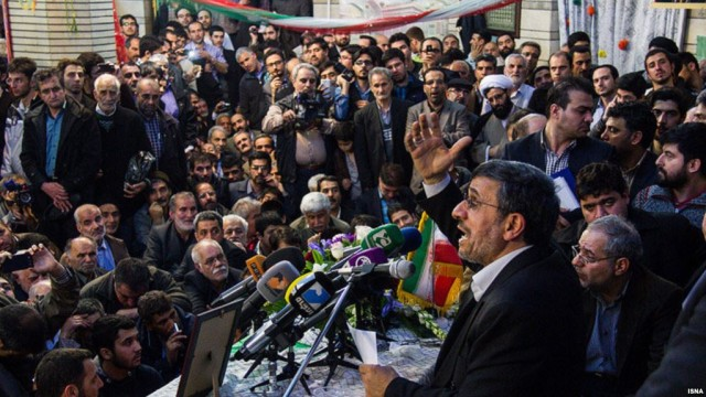Iran Daily: Ahmadinejad Calls on Government to Quit
