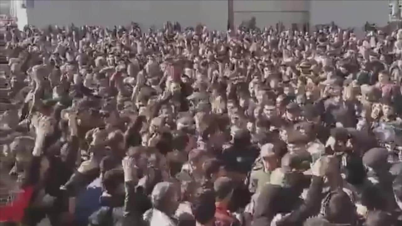Iran Developing: Large Protests in Mashhad and Other Cities Over Inflation