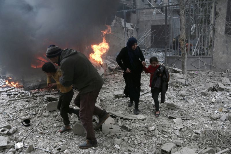 Syria Daily: Pro-Assad Airstrikes on East Ghouta Kill 17 on Saturday