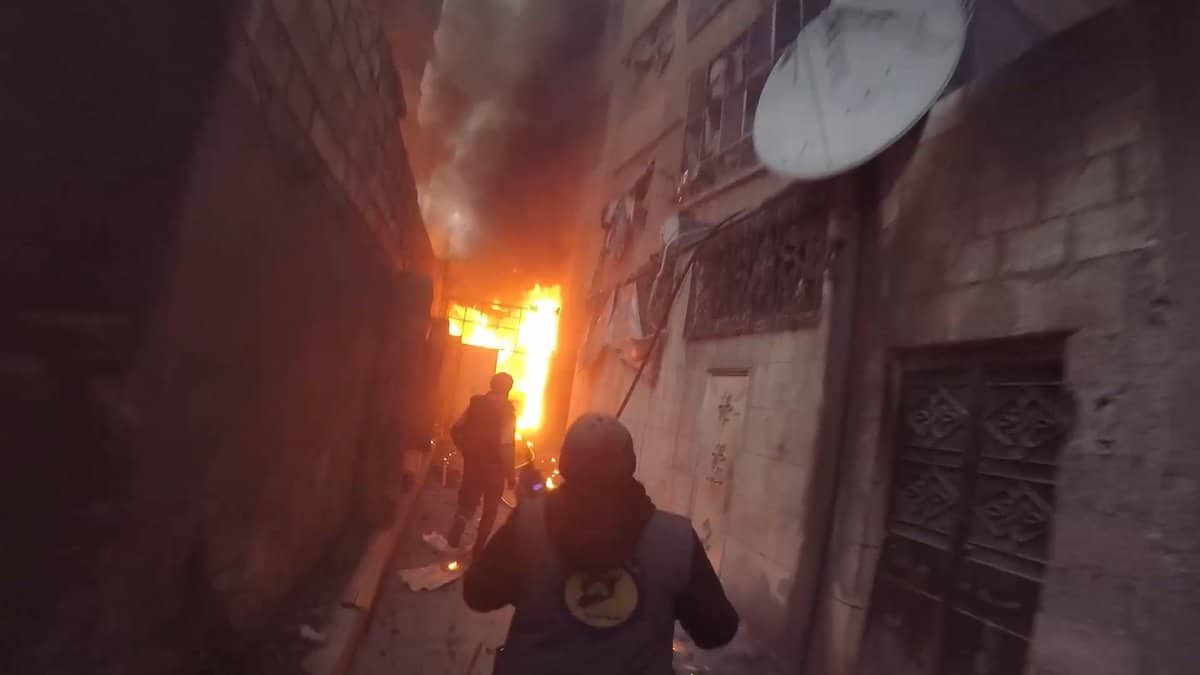 Syria Daily: Pro-Assad Bombing of Idlib and East Ghouta