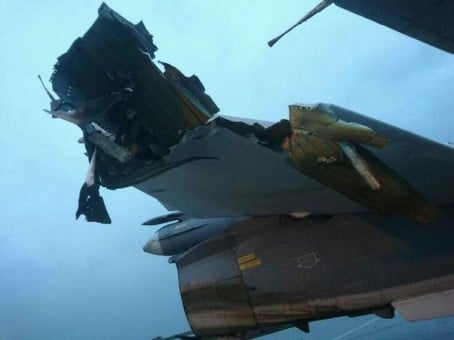 RUSSIA WARPLANE DAMAGED 12-17 2