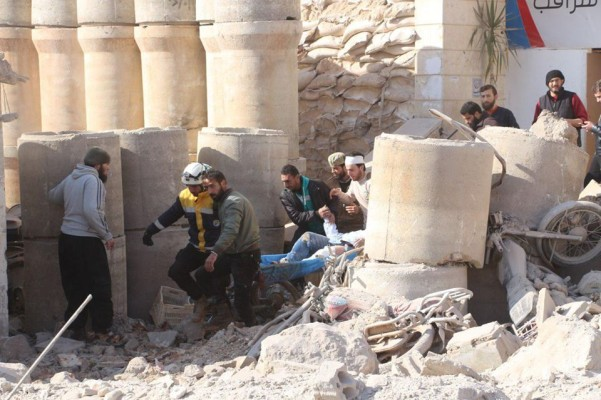 Syria Daily: Pro-Assad Bombing Overshadows Opening of Russia's Conference