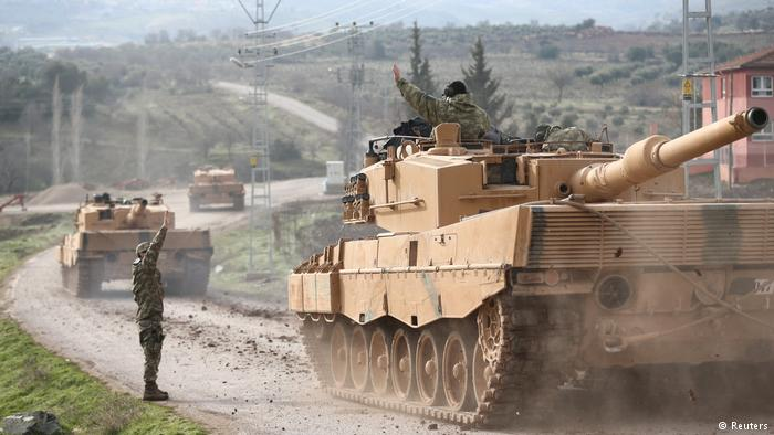 Syria Daily: Turkish-Rebel Offensive Moves Into Kurdish Territory of Afrin