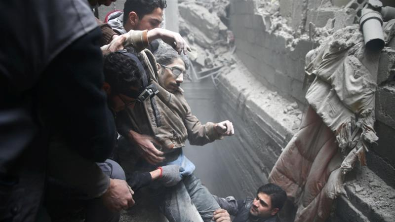 Syria Daily: 400+ Killed in East Ghouta in 5 Days — Russia Blocks Ceasefire