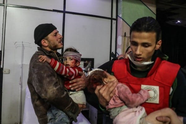 "Syria Daily: UN — Pro-Assad ""War Crimes"" in East Ghouta Offensive"