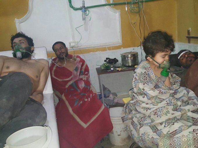 Syria Daily: Reports of Chlorine Attack as Pro-Assad Assault Defies UN Call for East Ghouta Ceasefire