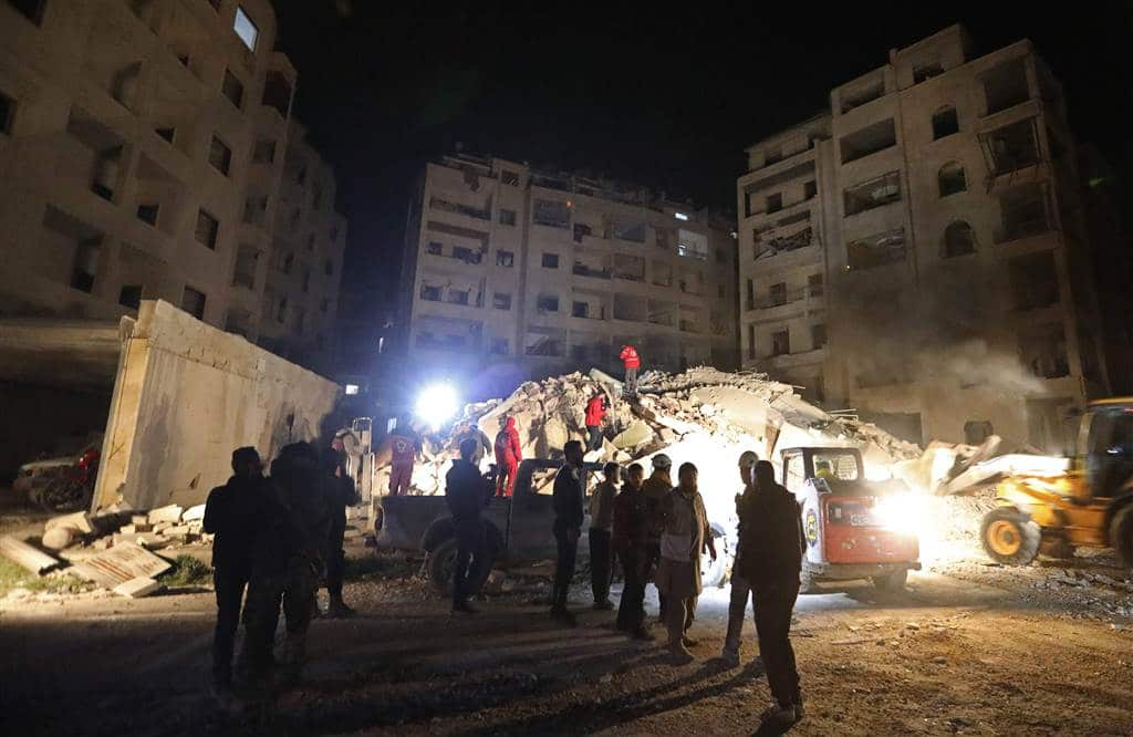 "Syria Daily: Idlib Province ""Bombed Day and Night"" by Russia and Regime"