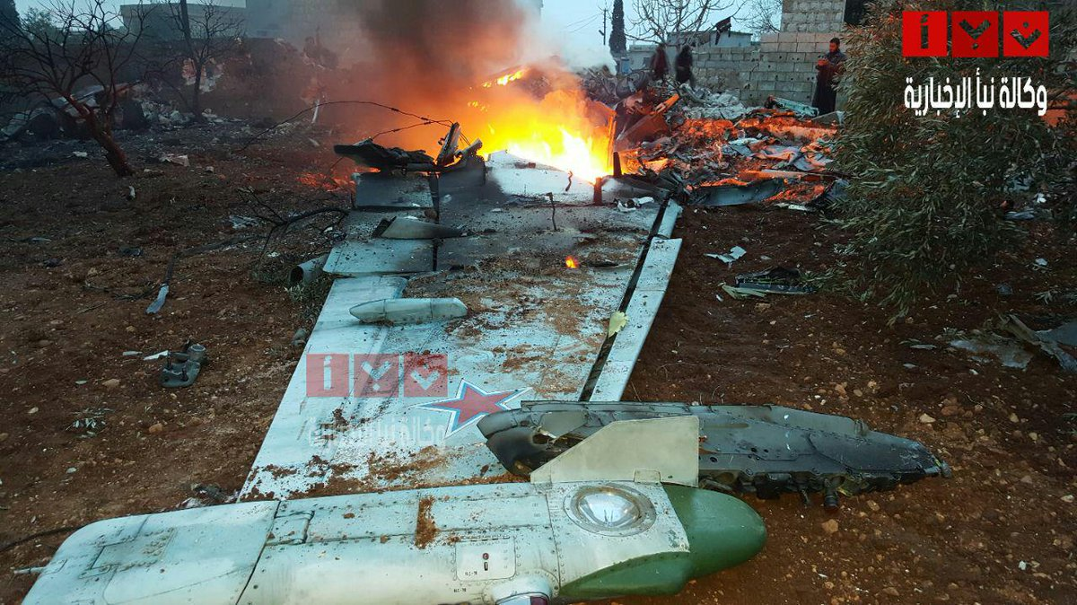 Rebels Down Russian Warplane in Northwest Syria, Kill Pilot