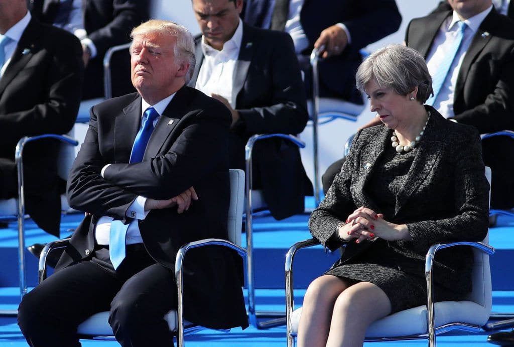 "TrumpWatch, Day 788: Trump Accuses UK of Backing ""Russiagate"", Undermines Prime Minister May"