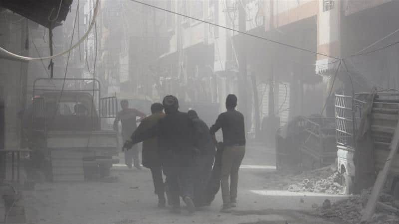 Syria Daily: 56+ Killed by Regime-Russian Attacks on East Ghouta