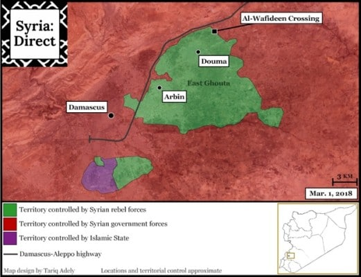 EAST GHOUTA MAP 02-18