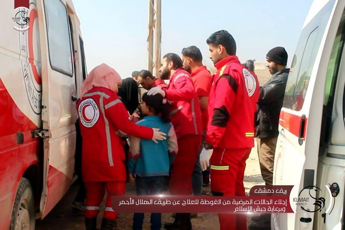 Syria Daily: East Ghouta — Pro-Assad Killings Ease Amid Medical Evacuations