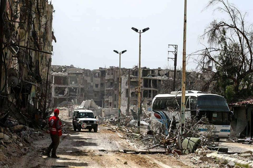 Syria Daily: 7,500 to Leave in Capitulation Deal in East Ghouta's Harasta