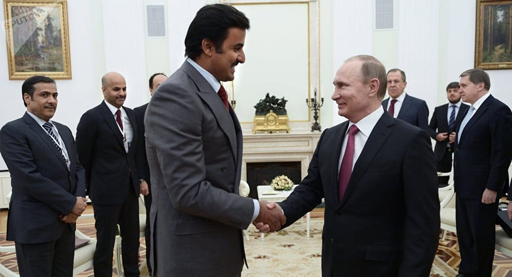 Syria Daily: Qatar Ruler in Russia for Talks on Assad, Opposition, & Reconstruction
