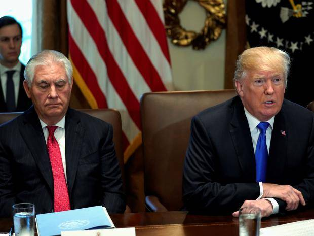 TrumpWatch, Day 418: Trump Dumps Tillerson Via Twitter