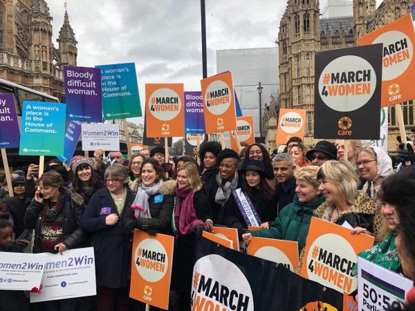 Marching for Which Women? Feminism and the UK's Conservative MPs