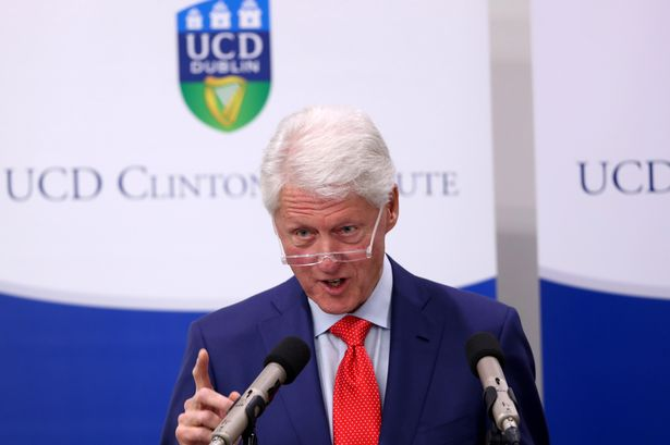 VideoCast: Bill Clinton on the 20th Anniversary of the Good Friday Agreement