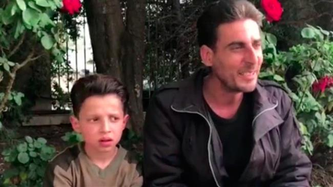 "Russia's Interview with Syria's ""No Chemical Attack"" Boy Was Secretly Filmed at Assad Regime Military Facility"