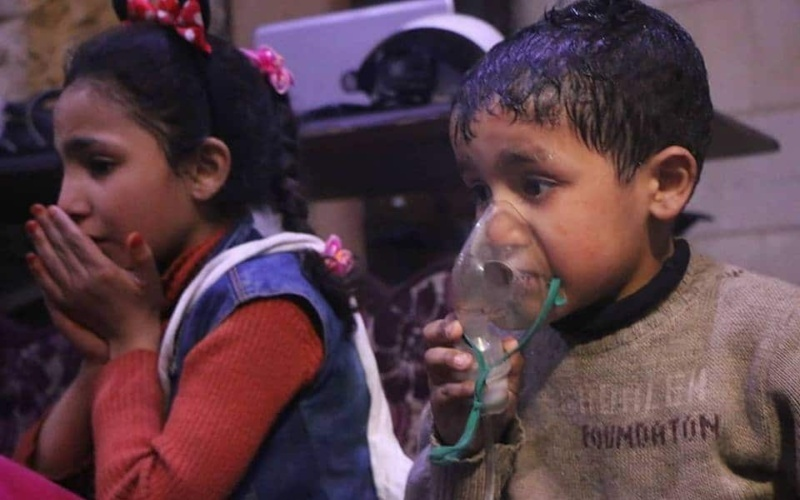 VideoCast: Reality v. Disinformation on Assad Regime's Chemical Attacks